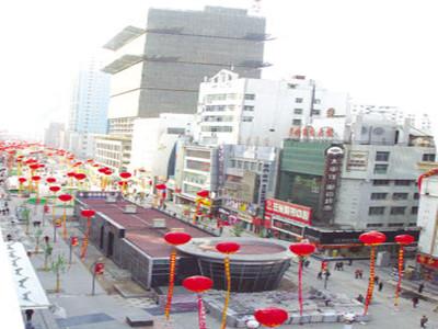 张掖路步行商业街改造雷竞技App最新版